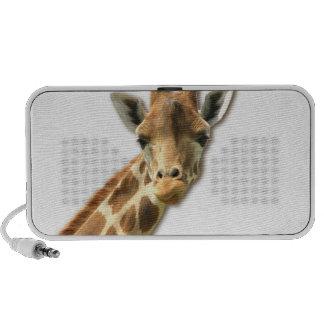 Long Necked Giraffe  Portable Speakers