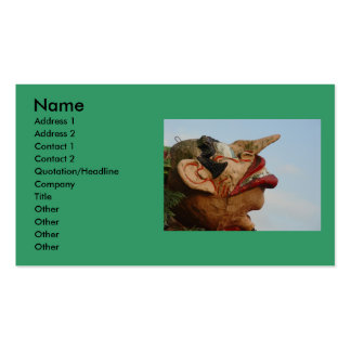 Long Nose Double-Sided Standard Business Cards (Pack Of 100)