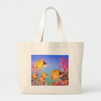 Long-nose Butterfly Fish Bag