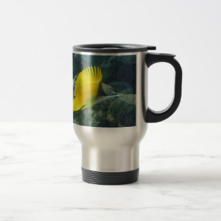 Long Nose Butterfly Fish Travel Mug