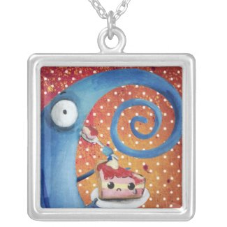 Long-Nose Creature cought in the act necklace