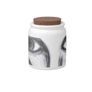 Long Nose Fortune-Teller(odd surrealism portrait) Candy Jar
