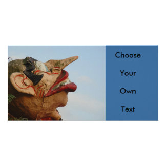 Long Nose Personalized Photo Card