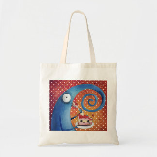 Long Nose Strange Creature caught in the act Tote Bag