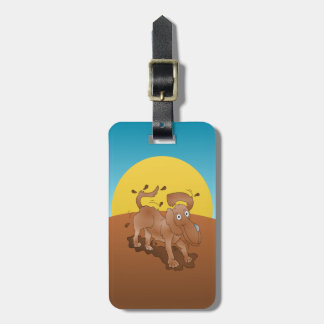 Long nosed dog shaking off the muck bag tag