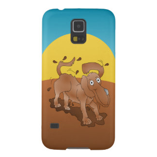 Long nosed dog shaking off the muck case for galaxy s5