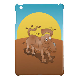 Long nosed dog shaking off the muck iPad mini cases