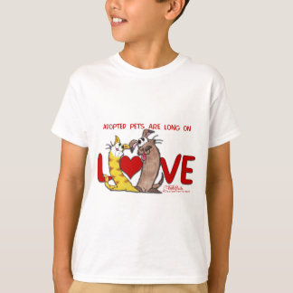 Long on Love-Cat and Dog T-Shirt