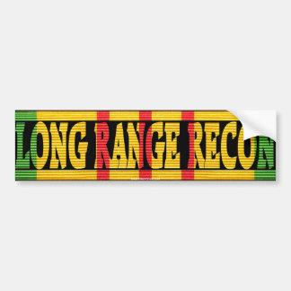 Long Range Recon Vietnam Service Medal Sticker