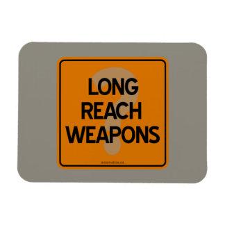 LONG REACH WEAPONS? RECTANGULAR PHOTO MAGNET