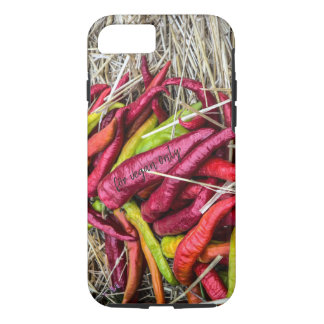 Long red pepper on the hay iPhone 8/7 case