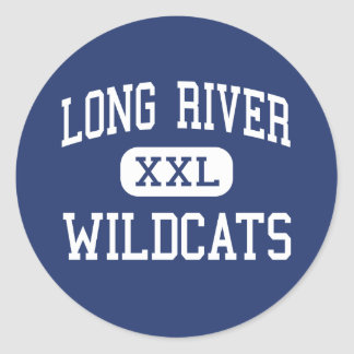 Long River Wildcats Middle Prospect Classic Round Sticker