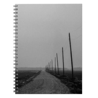 Long Road to No Where Spiral Notebook