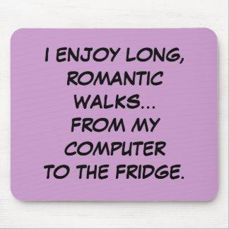 Long, Romantic Walks to the... Fridge Mouspad Mouse Pad