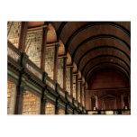 Long Room Trinity College Postcard