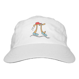 Long Running Pi - Funny Pi Guy Headsweats Hat