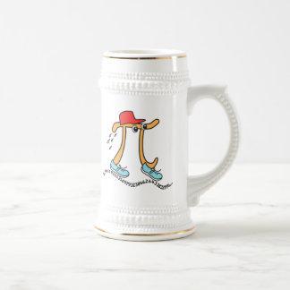 Long Running Pi - Funny Pi Guy Mug