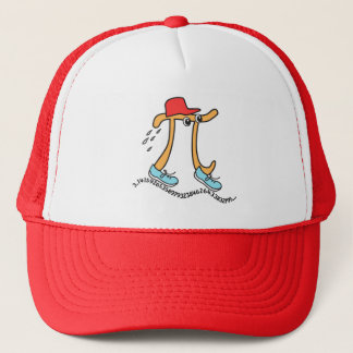 Long Running Pi - Funny Pi Guy Trucker Hat