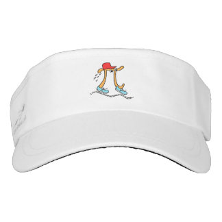 Long Running Pi - Funny Pi Guy Visor