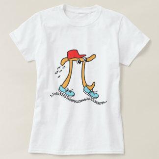 Long Running Pi TShirts - Funny Pi Guy