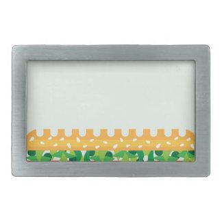 Long Sandwich vector Belt Buckle