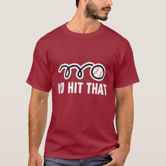 Long sleeve baseball t-shirt with funny quote