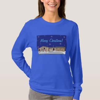 Long Sleeve Christmas T-shirt