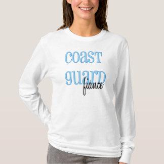 Long Sleeve- Coast Guard Fiance T-Shirt