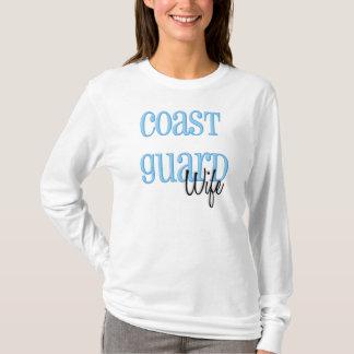 Long Sleeve- Coast Guard Wife T-Shirt