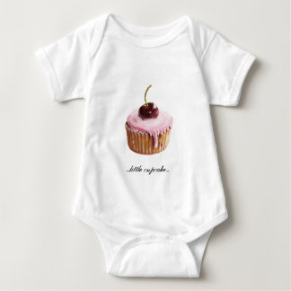 Long Sleeve Cupcake Baby Bodysuit
