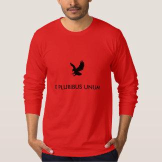 "Long Sleeve ""E PLURIBUS UNUM"" Shirt. T-Shirt"