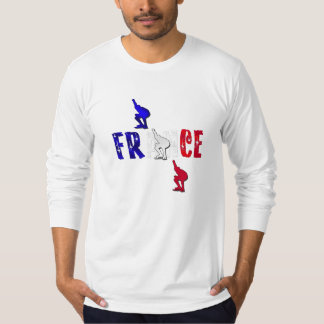 Long sleeve fitted top for ice skaters