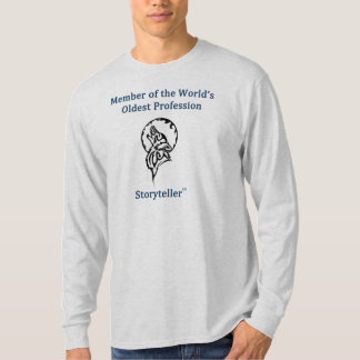 Long sleeve men's humorous t-shirt with style