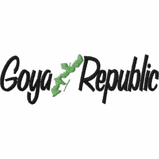 long sleeve polo with classic goya republic logo embroideredshirt