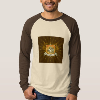 Long Sleeve Root Beer SCR Tshirt