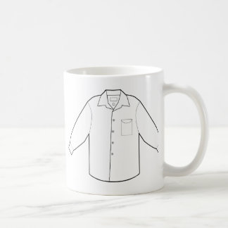 Long Sleeve Shirt Drawing Graphic Coffee Mug