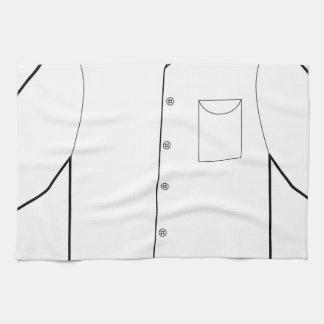 Long Sleeve Shirt Drawing Graphic Hand Towel