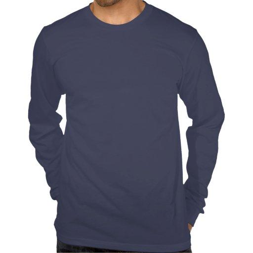 Long Sleeve Shirt in Navy - Men's Tee Shirts