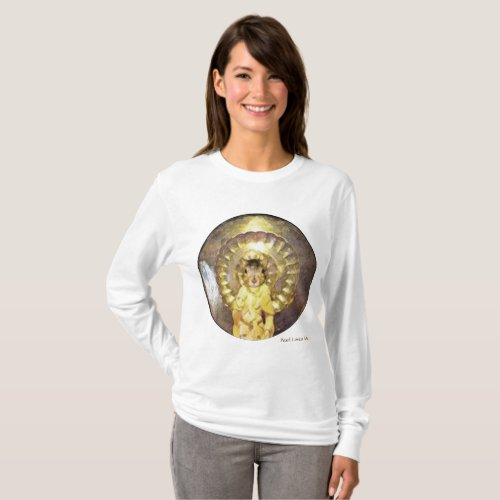 Long sleeve shirt with sacred squirrel design