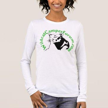 Beach Themed long sleeve shirt with wildcat green logo
