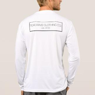 "Long-Sleeve Tidal Wave ""Wordmark"" T-Shirt - Men's"