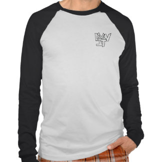 Long sleeve, two-toned T-shirt