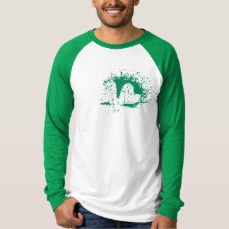 Long sleeve Vintage St Patricks Day shirt for men