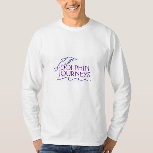 Long Sleeve White Dolphin Journey Shirt