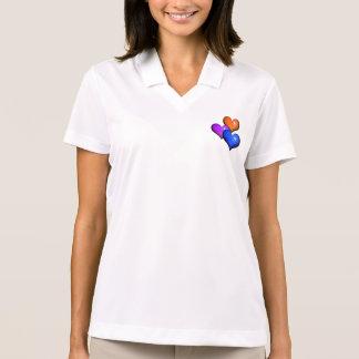 Long sleeve woman shirt - hearts