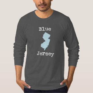Long sleeved Asphalt (grey) Blue Jersey T Adult-Sm T-Shirt