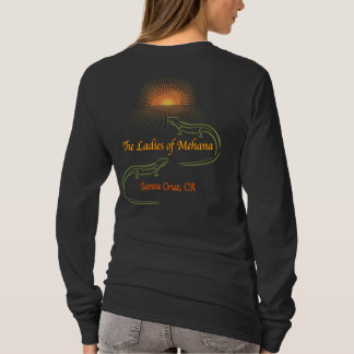 Long Sleeved Ladies Shirt (back view)