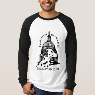 Long-Sleeved Raglan -- GWDC Logo T-Shirt