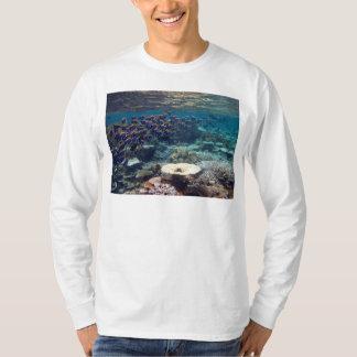 Long Sleeved T-Shirt - Powder Blue Surgeon Fish