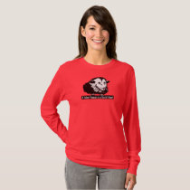 Long sleeved t-shirt with Possum and Pith